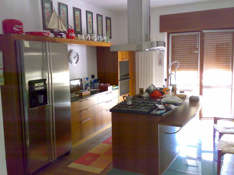 Cucina Acciaio E Legno ~ Idea Creativa Della Casa e Dell\'interior ...